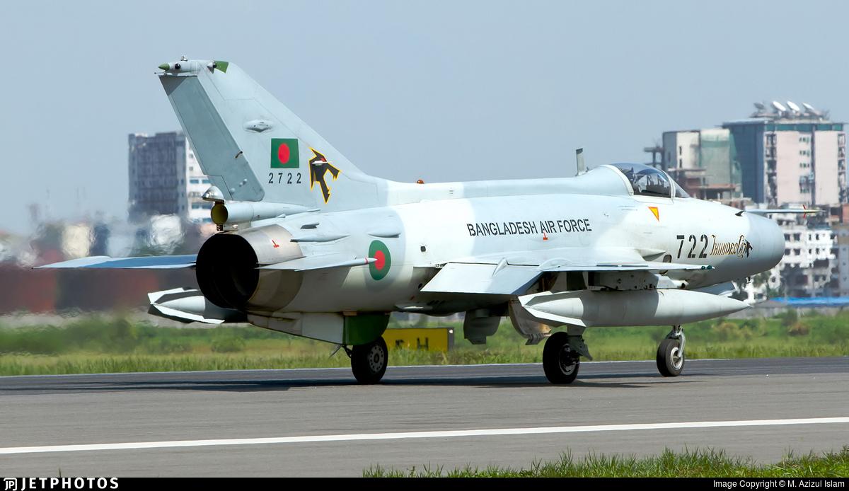 2722 - Chengdu F-7BGI - Bangladesh - Air Force