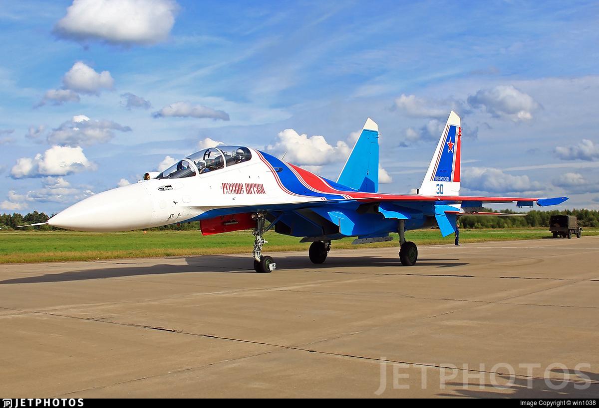RF-81701 - Sukhoi Su-30SM - Russia - Air Force