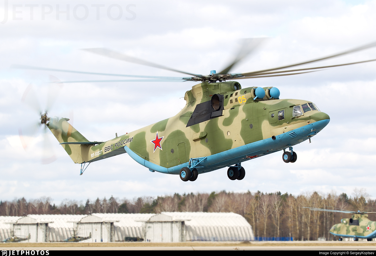 RF-93527 - Mil Mi-26 Halo - Russia - Army