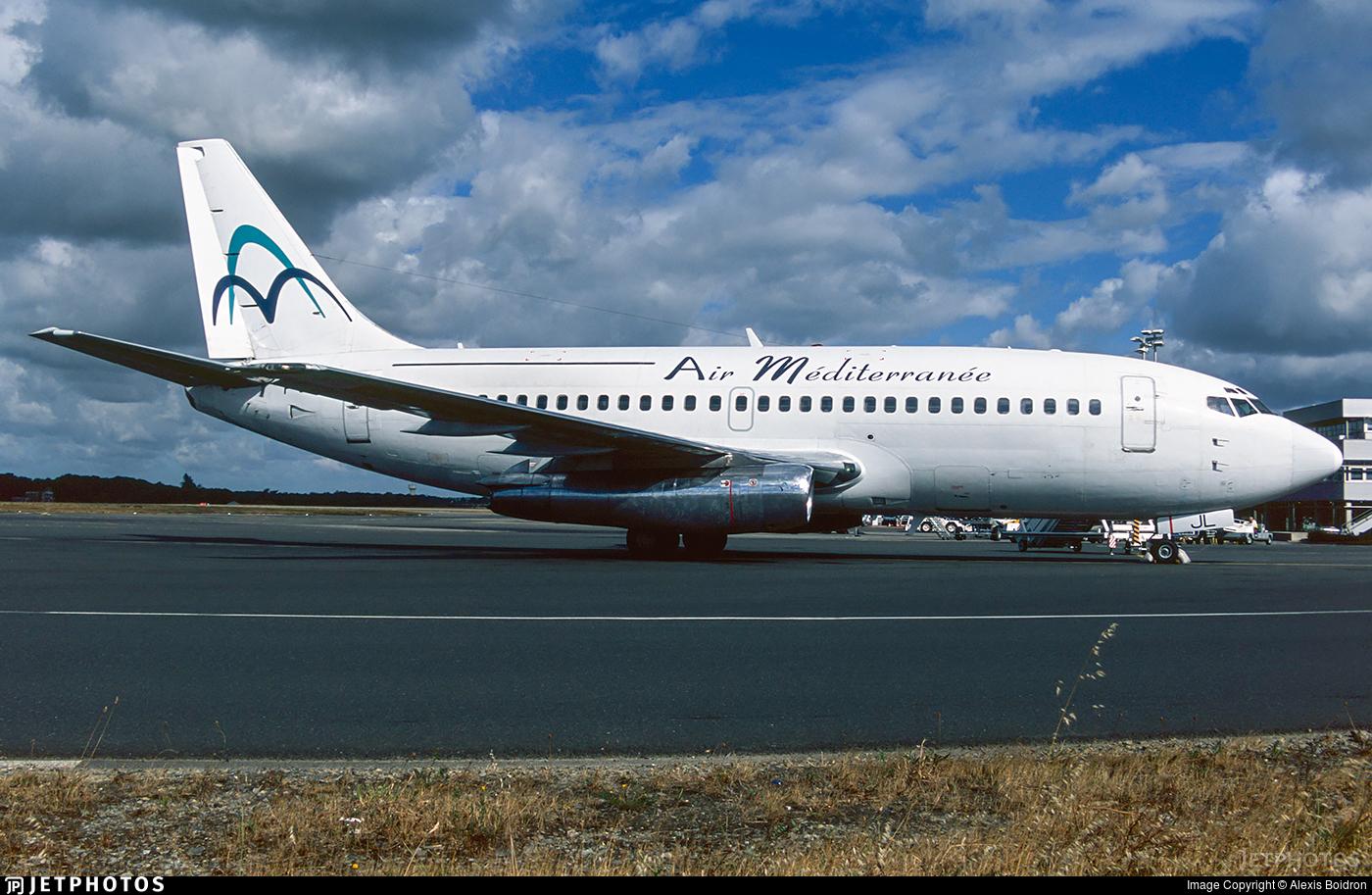 F-GCJL - Boeing 737-222 - Air Méditerranée