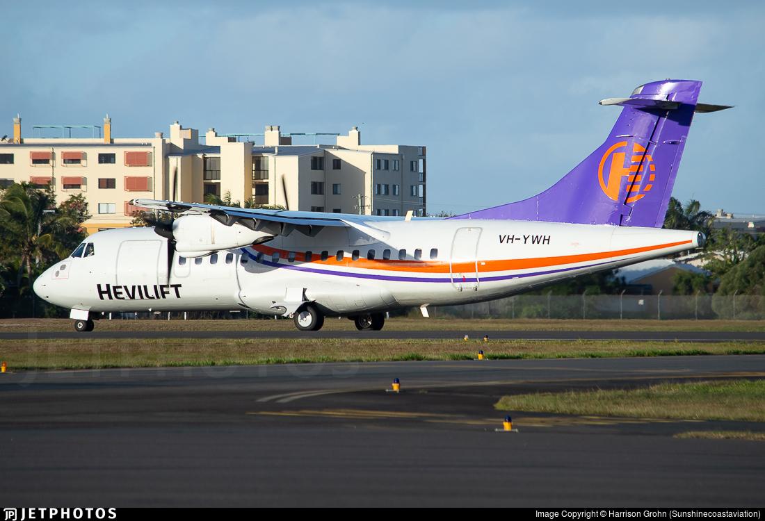 VH-YWH - ATR 42-320 - Hevilift Australia