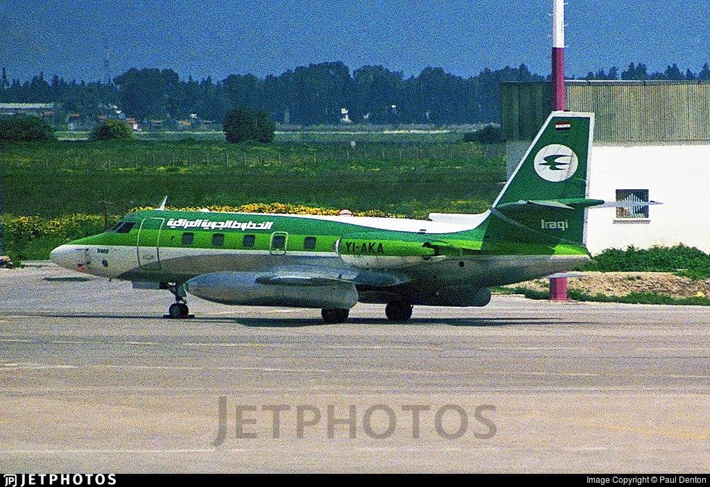 YI-AKA - Lockheed L-1329 JetStar II - Iraqi Airways