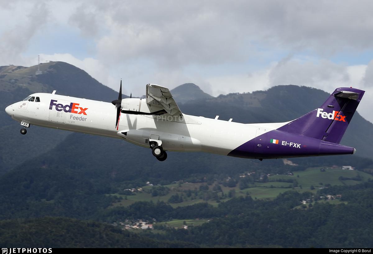 EI-FXK - ATR 72-202(F) - FedEx Feeder (ASL Airlines)