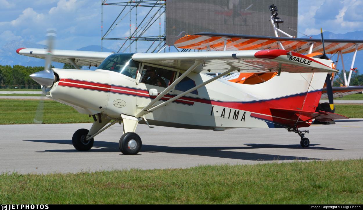 I-AIMA - Maule MXT-7-180A - Private