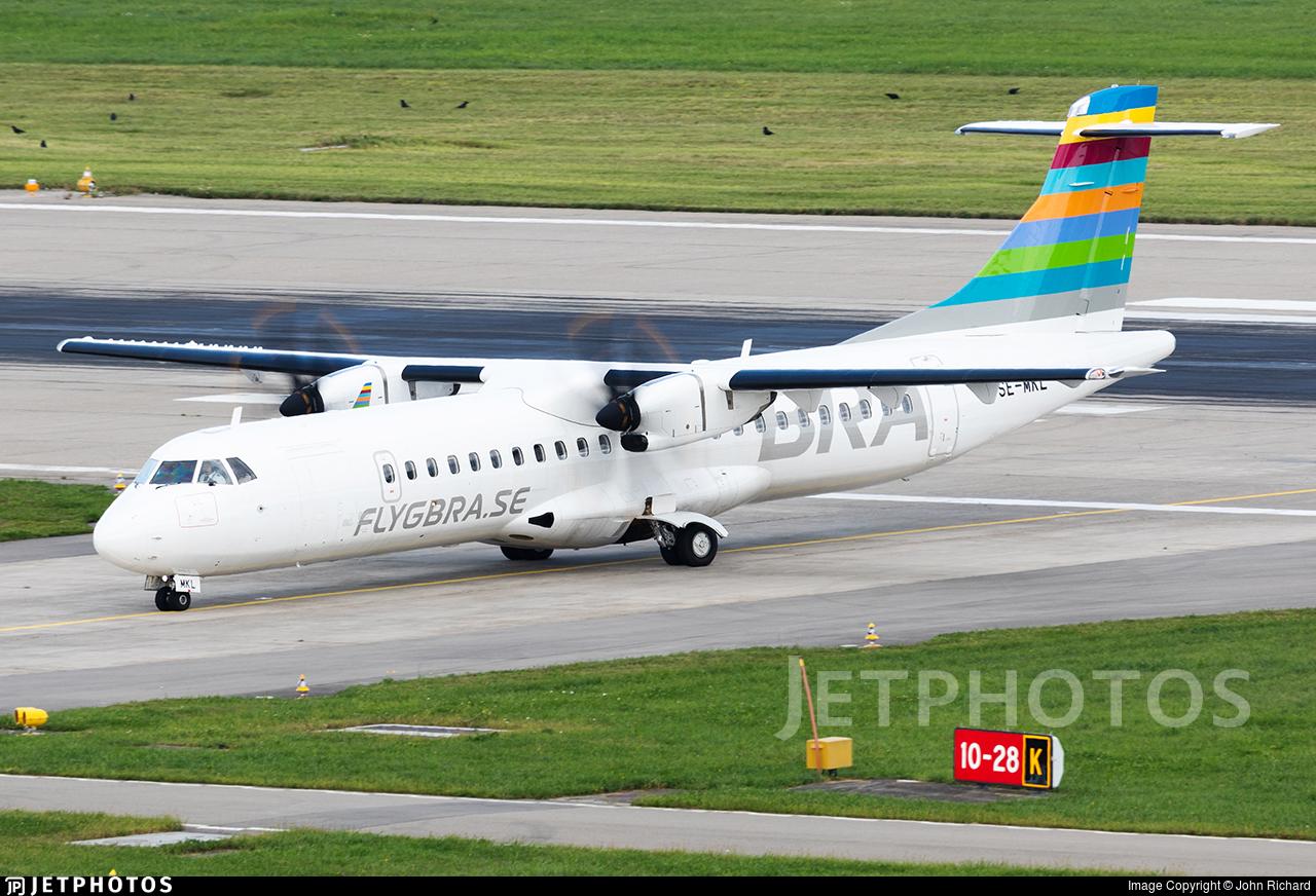 SE-MKL - ATR 72-212A(600) - Braathens Regional