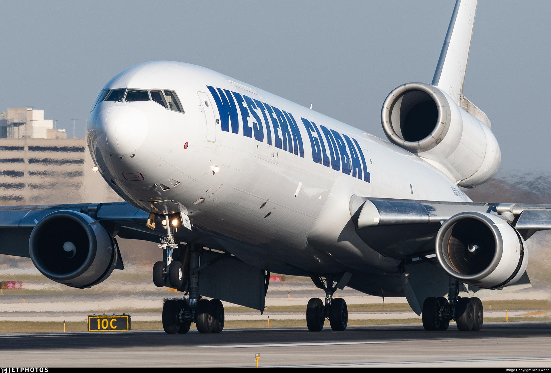 N581JN - McDonnell Douglas MD-11(F) - Western Global Airlines