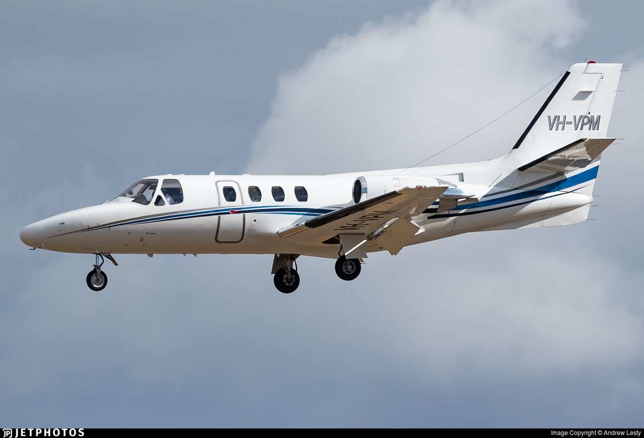 VH-VPM - Cessna 501 Citation - Private
