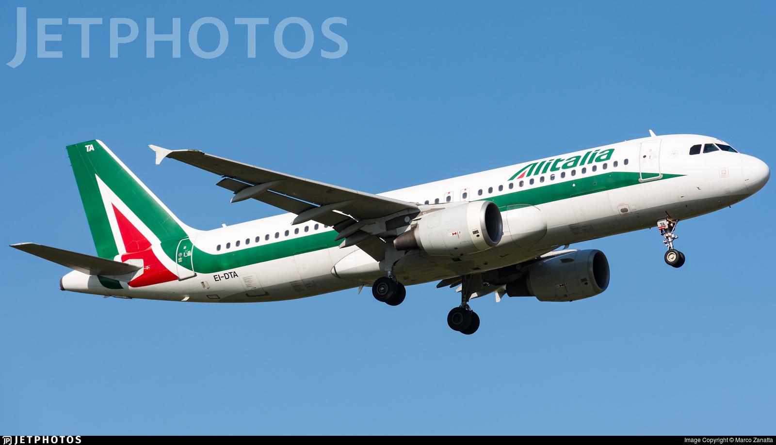 EI-DTA - Airbus A320-216 - Alitalia