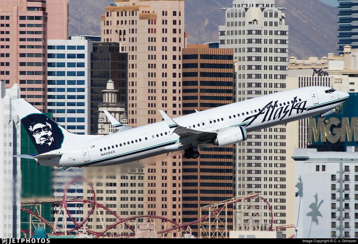 N459as Boeing 737 990er Alaska Airlines C V