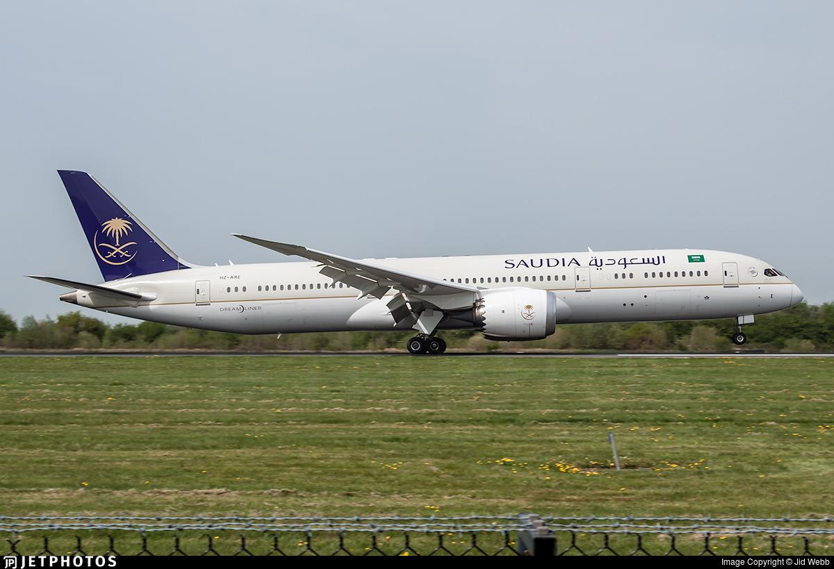 HZ-ARE - Boeing 787-9 Dreamliner - Saudi Arabian Airlines