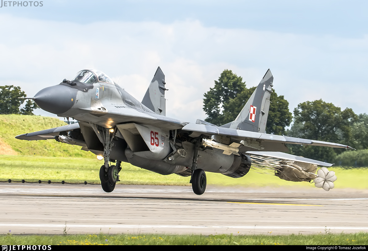 65 - Mikoyan-Gurevich MiG-29A Fulcrum - Poland - Air Force