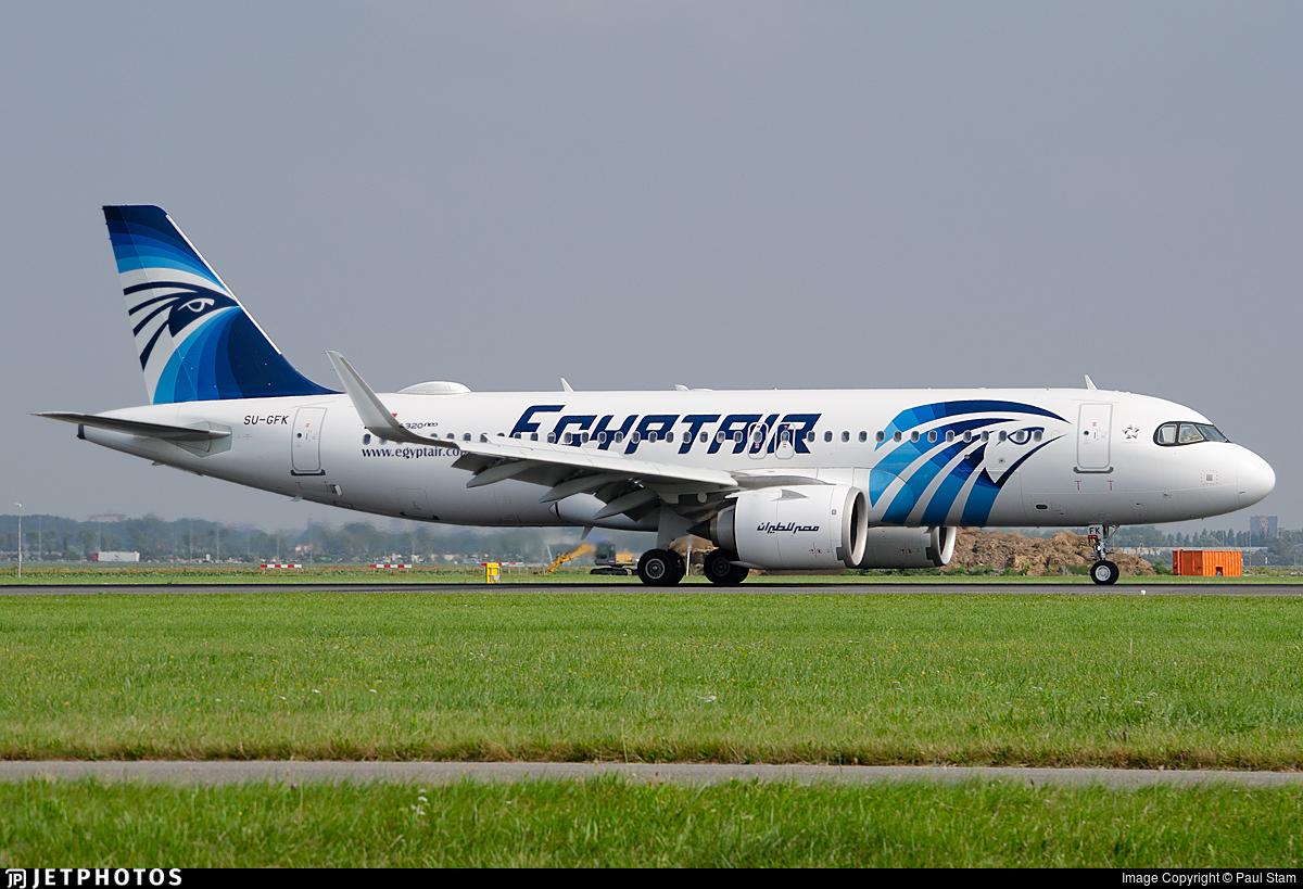 SU-GFK - Airbus A320-251N - EgyptAir
