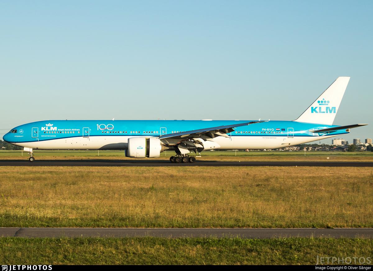 PH-BVO - Boeing 777-306ER - KLM Royal Dutch Airlines