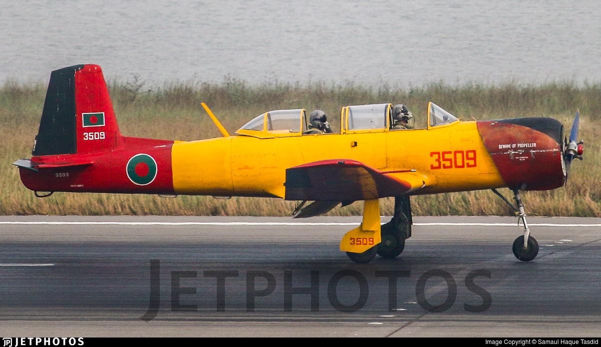 3509 - Nanchang PT-6A - Bangladesh - Air Force