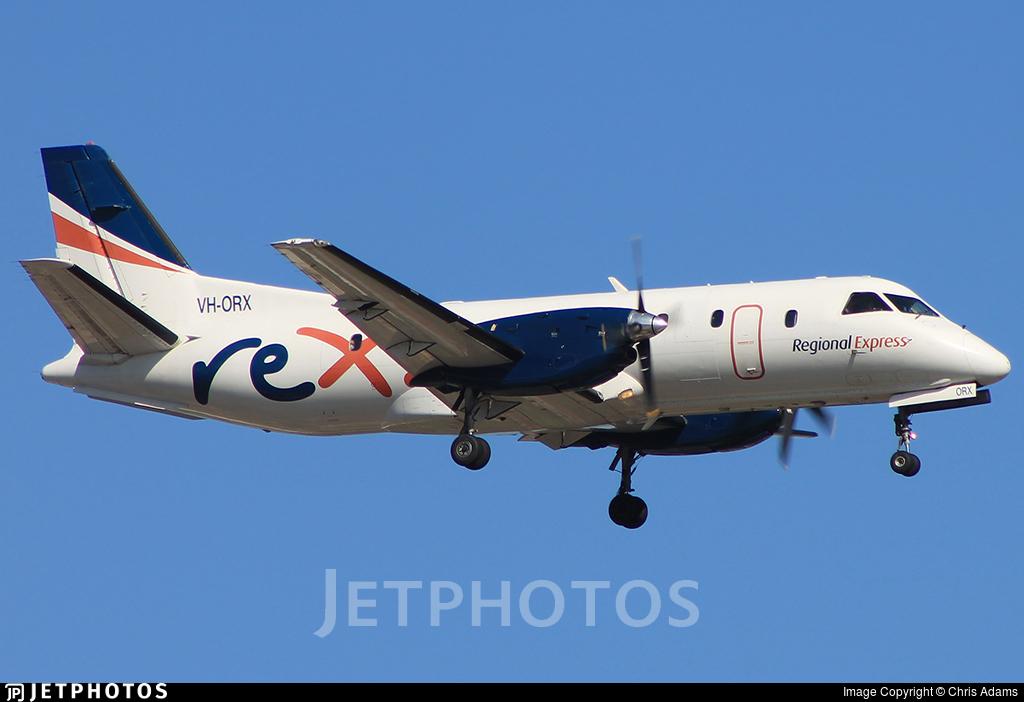 VH-ORX - Saab 340B - Regional Express (REX)