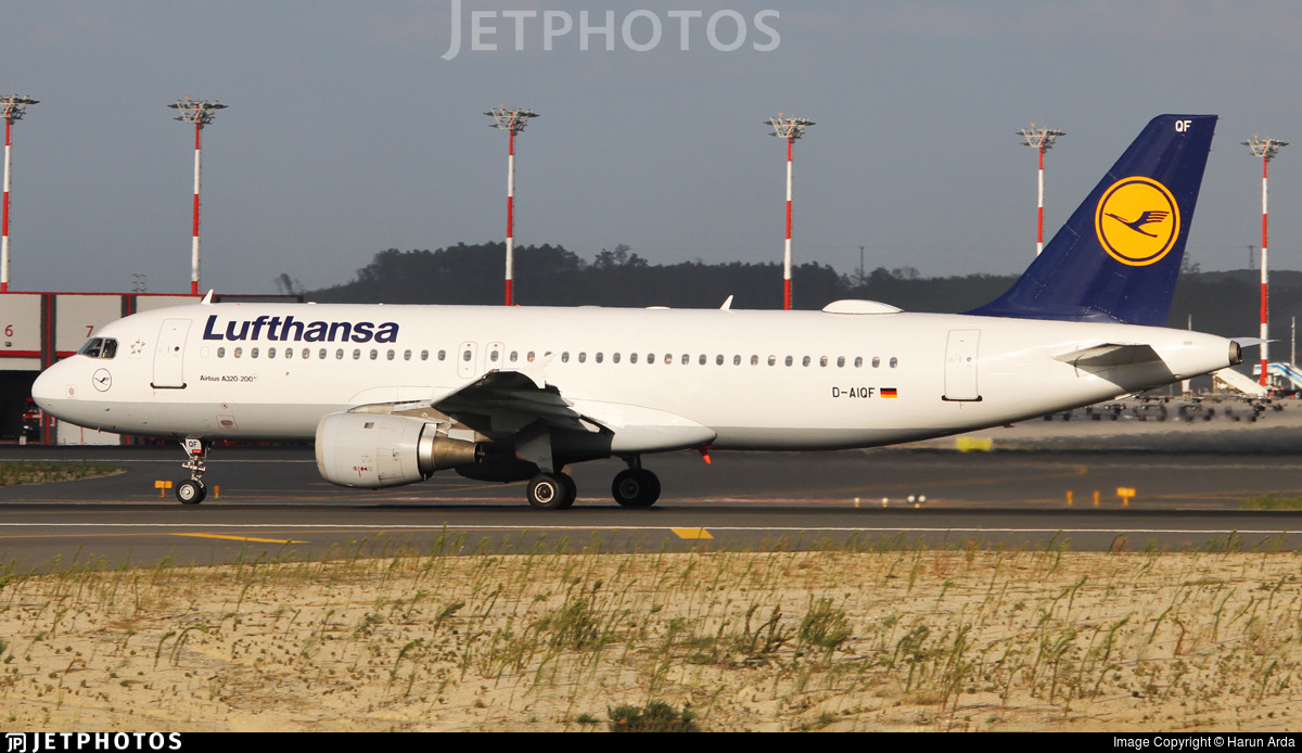D-AIQF - Airbus A320-211 - Lufthansa