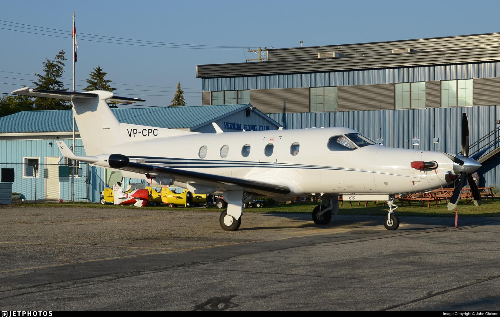 VP-CPC - Pilatus PC-12/45 - Private