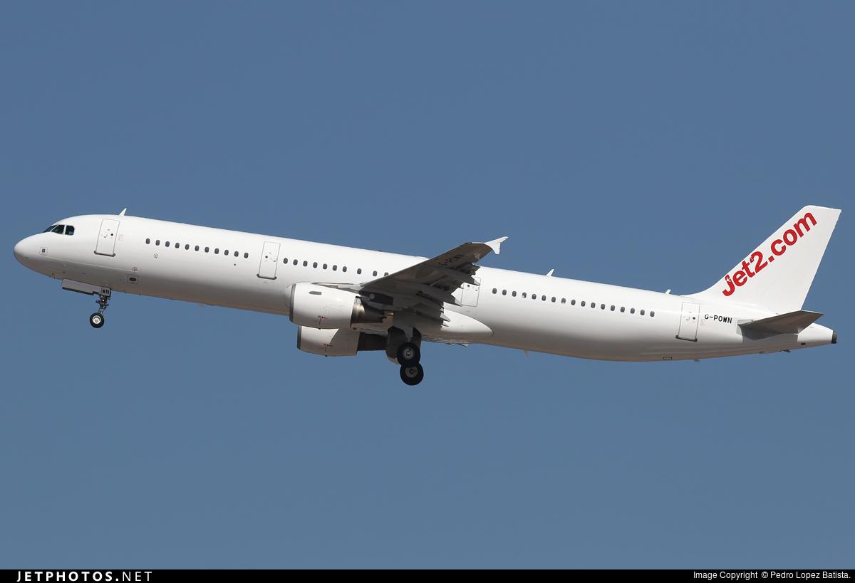 G-POWN - Airbus A321-211 - Jet2.com (Titan Airways)
