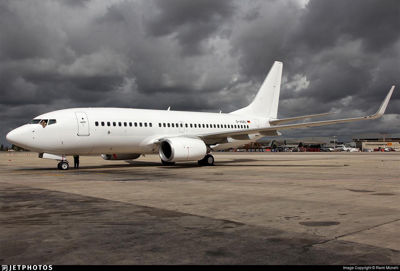 D-AGEC - Boeing 737-76J - TUIfly
