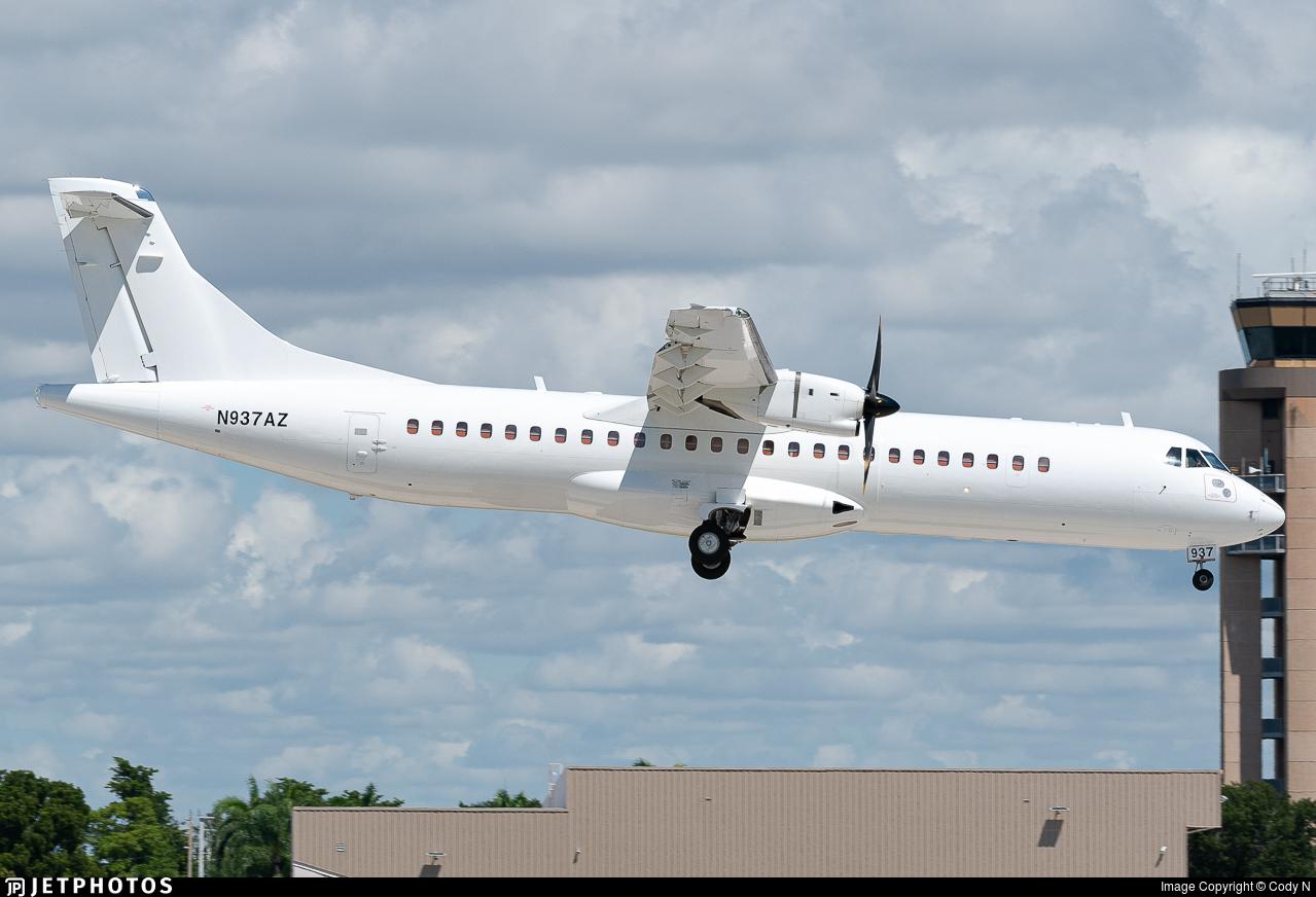 N937AZ - ATR 72-212A(500) - Amazon Prime Air (Silver Airways)