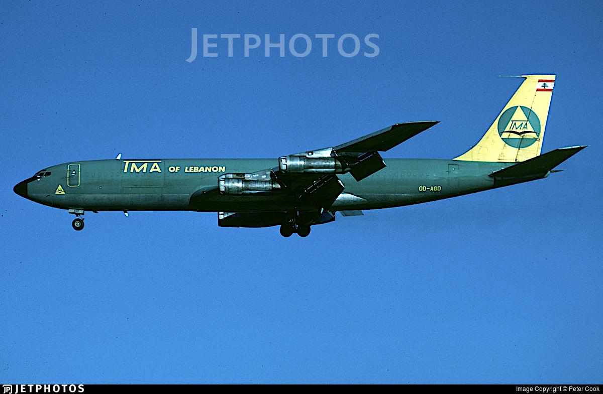 OD-AGD - Boeing 707-323C - Trans Mediterranean Airways (TMA)