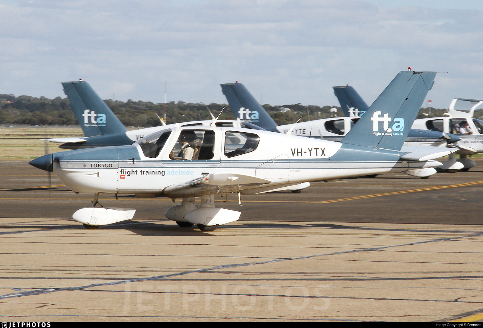 VH-YTX - Socata TB-10 Tobago - Flight Training Adelaide