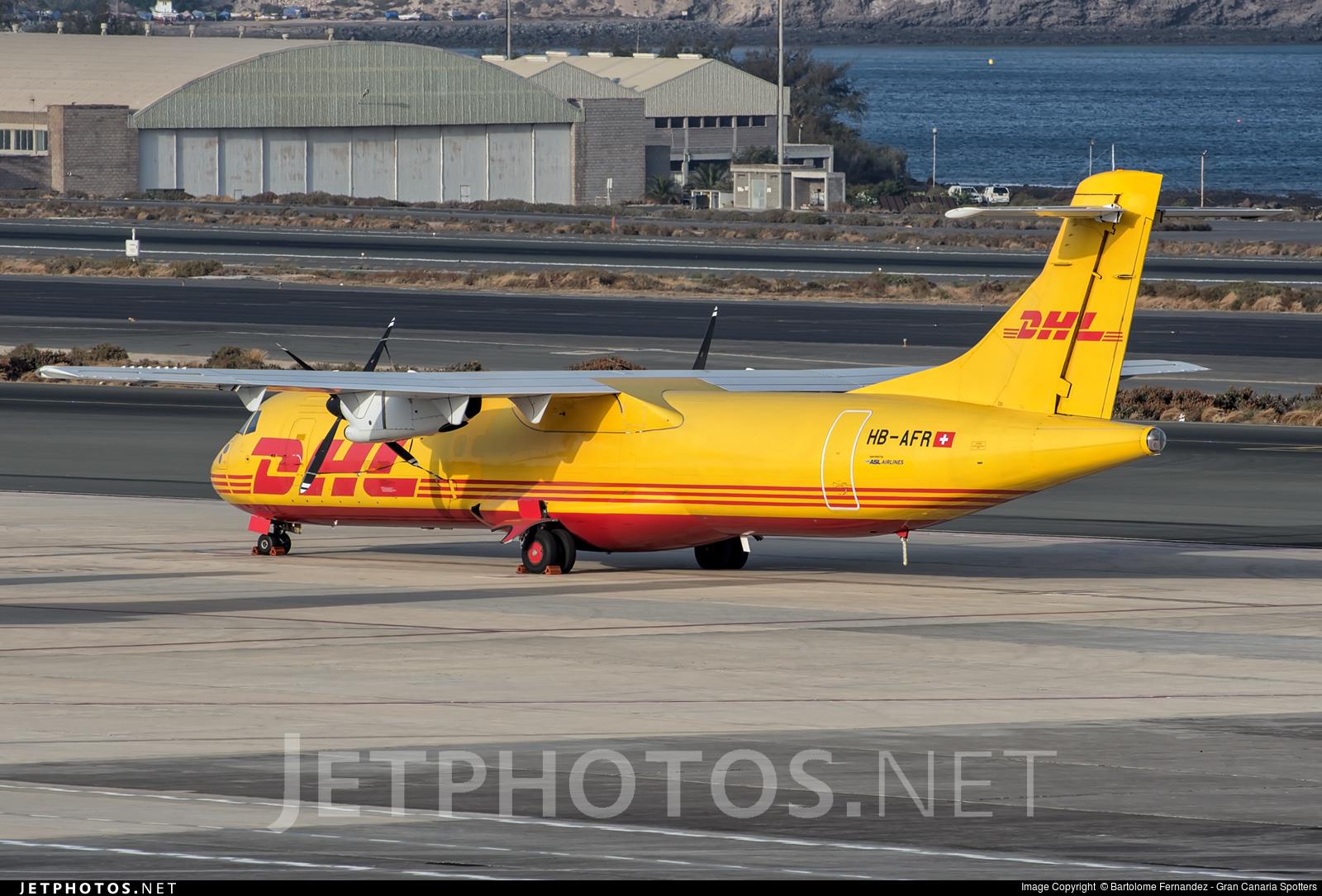 HB-AFR - ATR 72-201(F) - DHL (Farnair Switzerland)