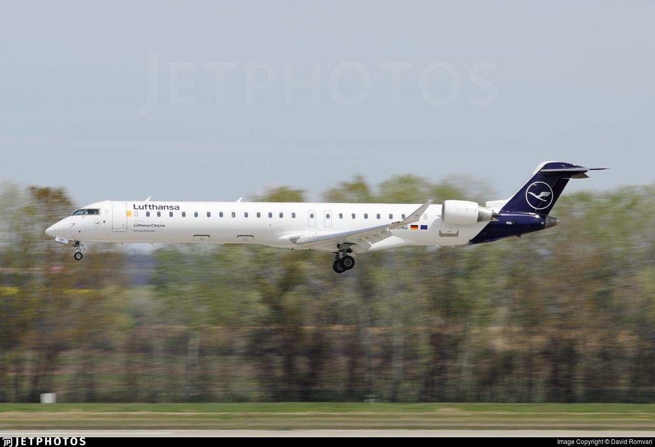 D-ACNG - Bombardier CRJ-900LR - Lufthansa CityLine