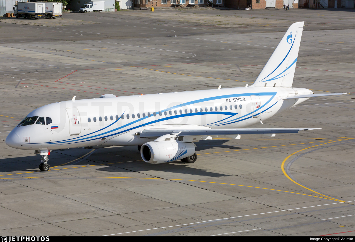 RA-89029 - Sukhoi Superjet 100-95LR - Gazpromavia