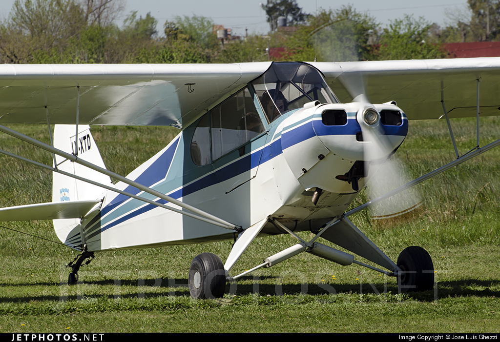 LV-XTD - Piper PA-11-90 Cub Special - Centro Universitario de Aviacion
