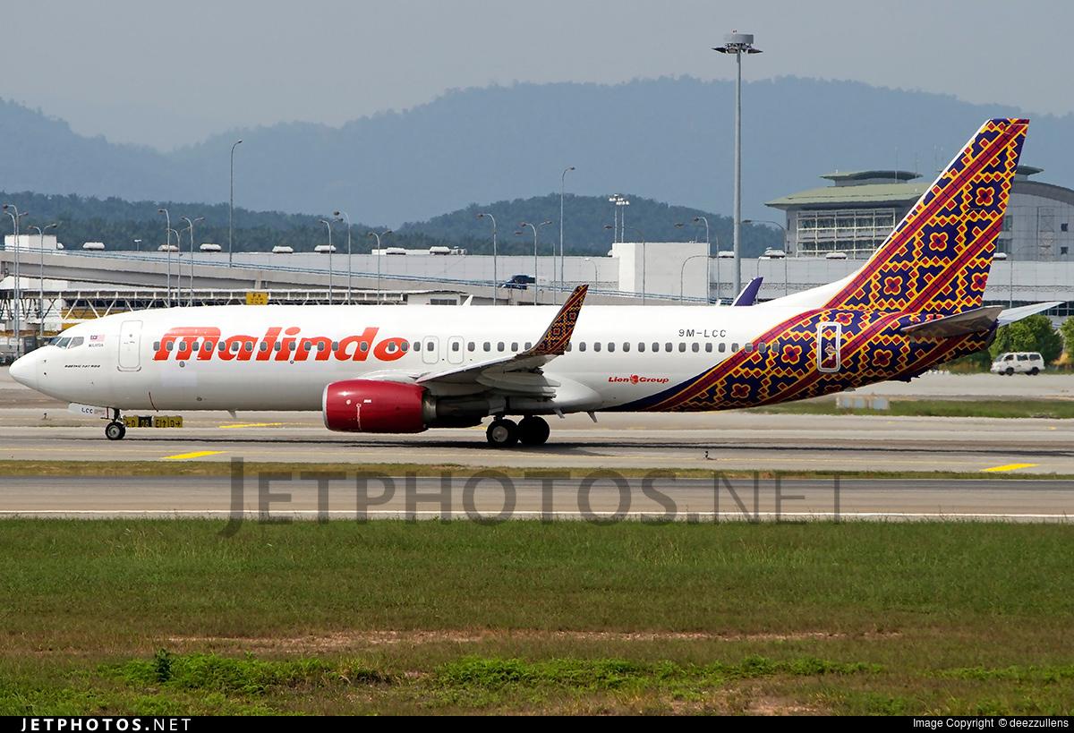 Malindo Air: Boeing 737-8GP