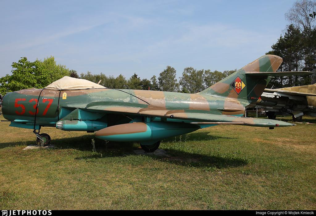 537 - PZL Lim-5 - German Democratic Republic - Air Force