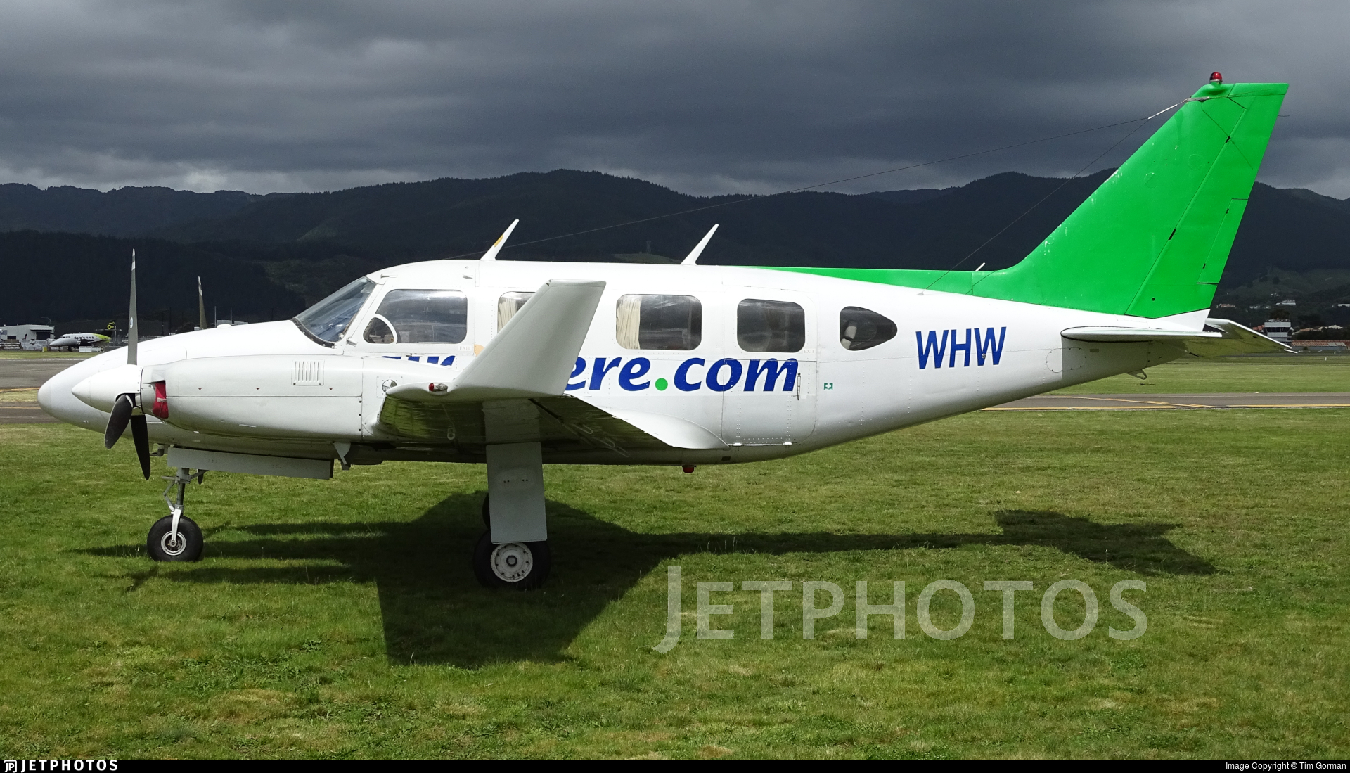 ZK-WHW - Piper PA-31-310 Navajo - Private