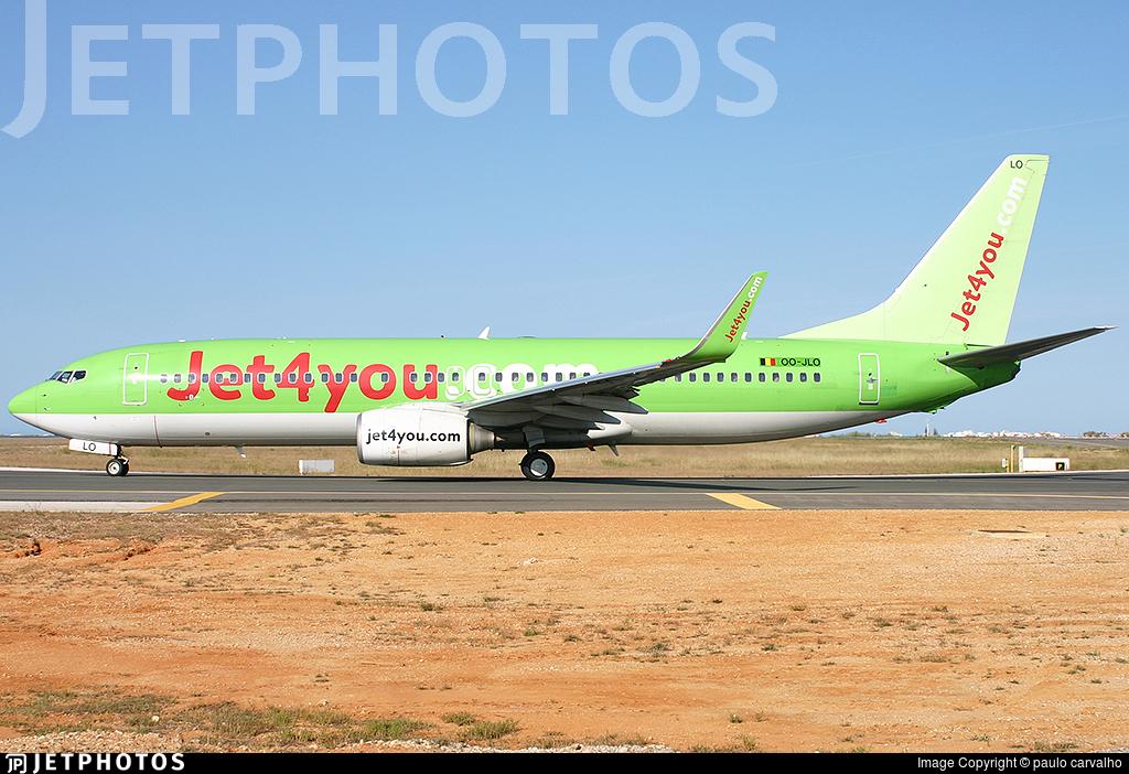 OO-JLO - Boeing 737-8K5 - Jet4You