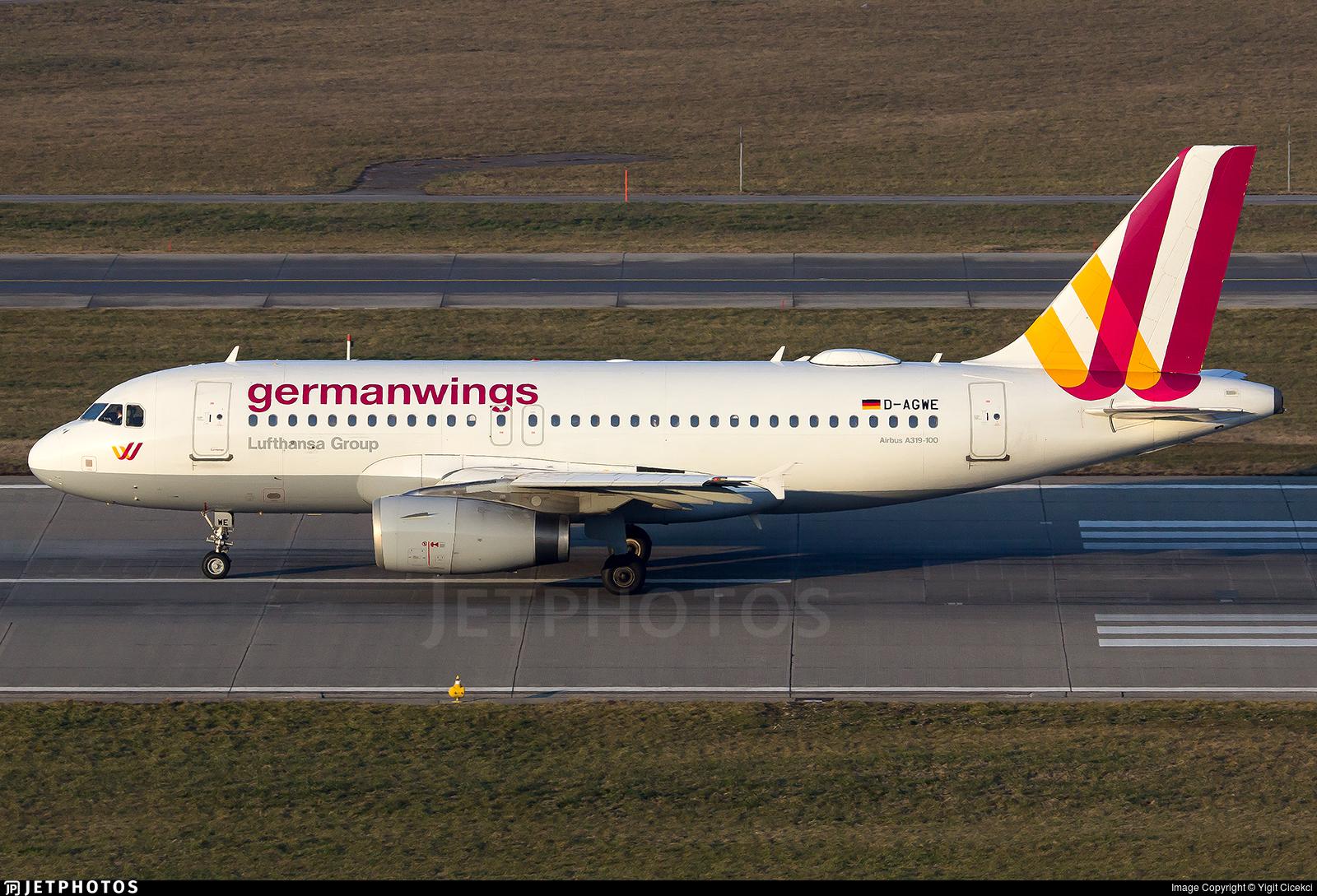 D-AGWE - Airbus A319-132 - Germanwings