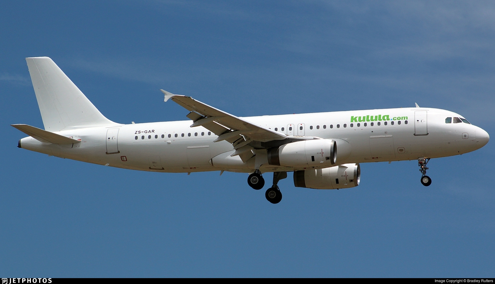 ZS-GAR - Airbus A320-231 - Kulula.com (Global Aviation)