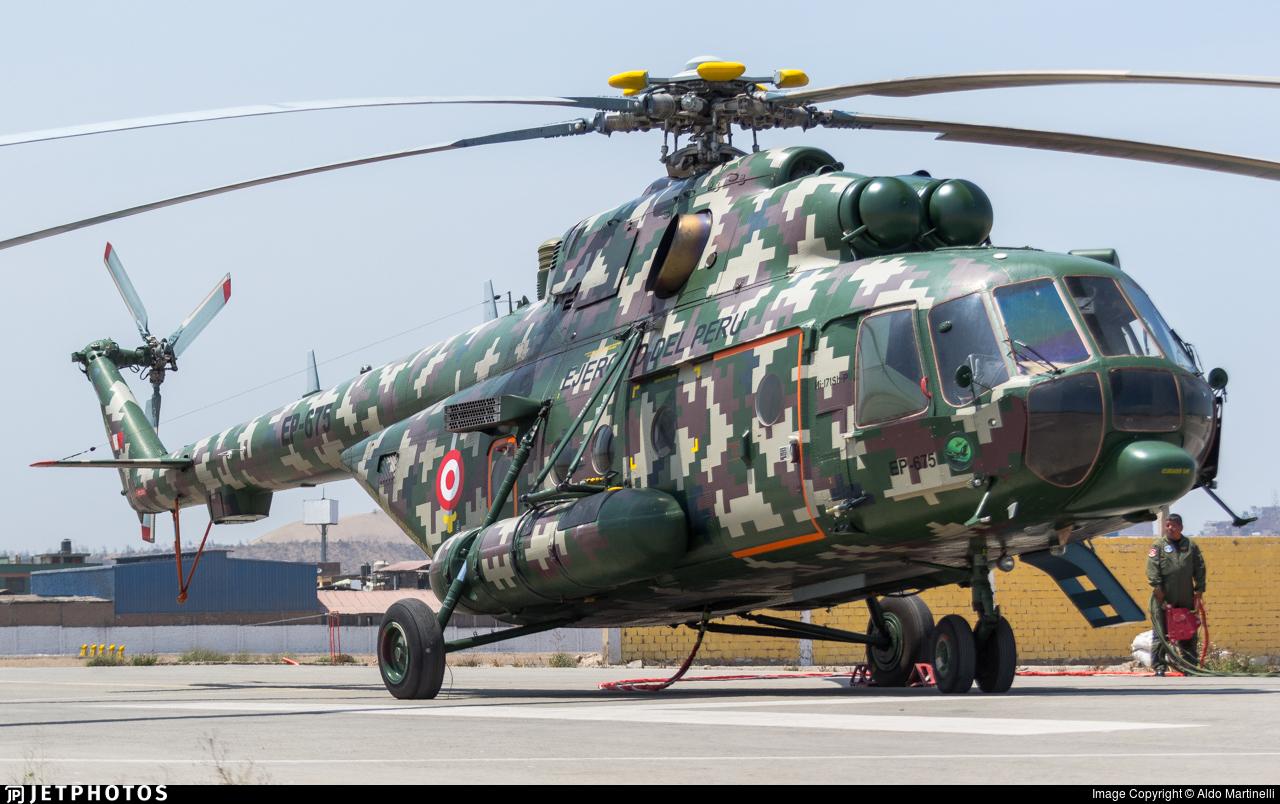 EP-675 - Mil Mi-171Sh-P - Perú - Army