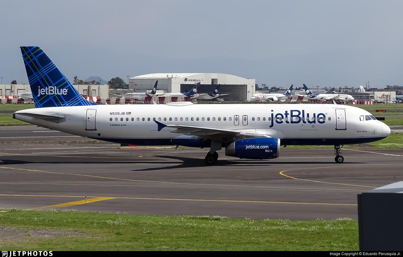 N505JB - Airbus A320-232 - jetBlue Airways