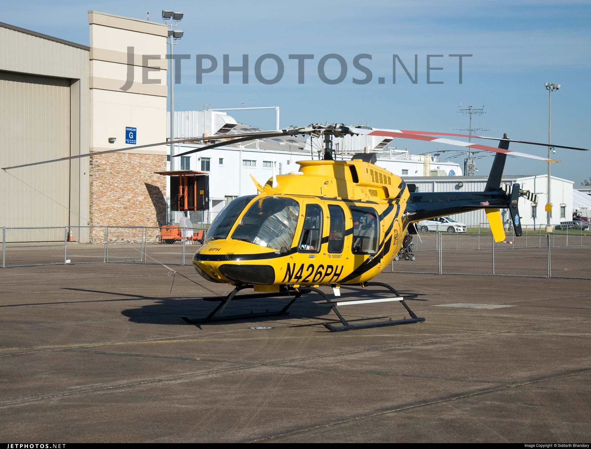 N426PH - Bell 407 - Private