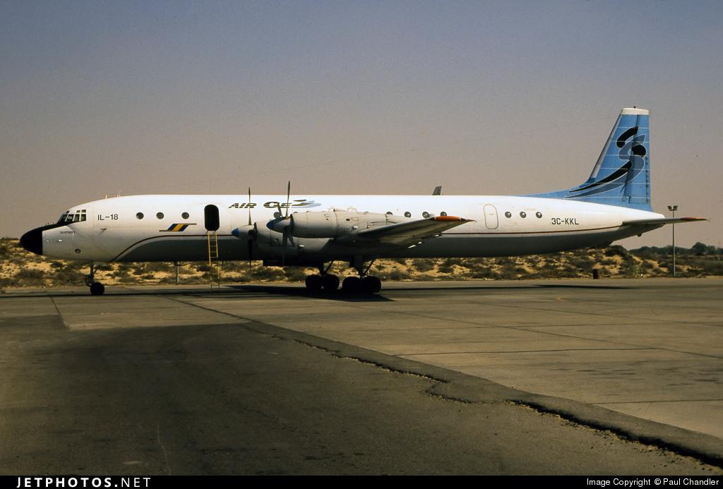 3C-KKL - Ilyushin IL-18 - Air Cess