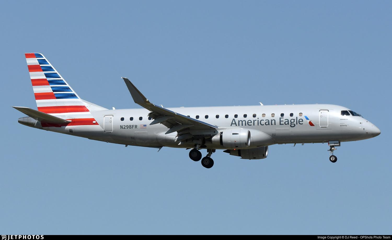 N298FR - Embraer 170-200LR - American Eagle (Envoy Air)