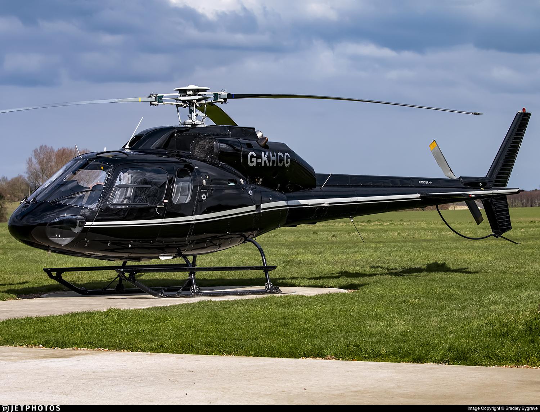 G-KHCG - Aérospatiale AS 355F2 Ecureuil 2 - London Helicopter Centre