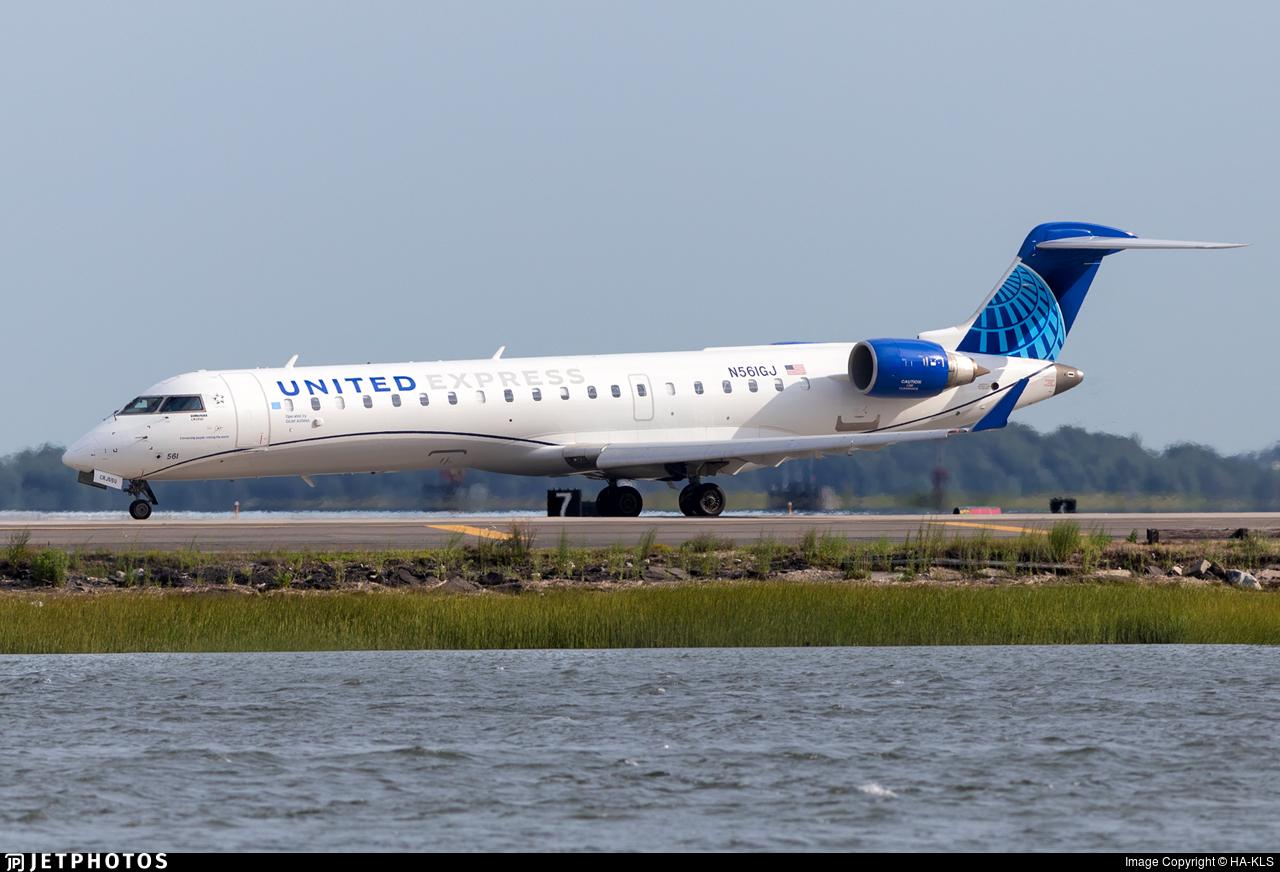 N561GJ - Bombardier CRJ-550 - United Express (GoJet Airlines)