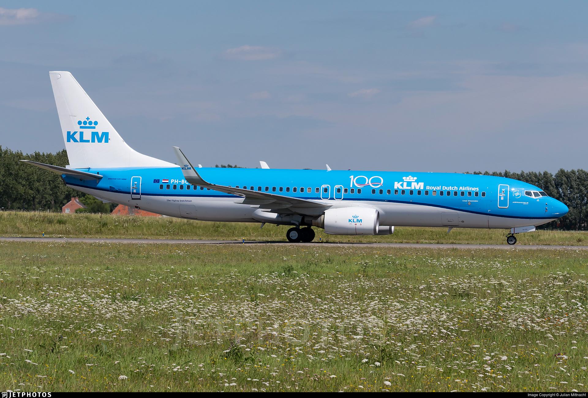 PH-BCB - Boeing 737-8K2 - KLM Royal Dutch Airlines
