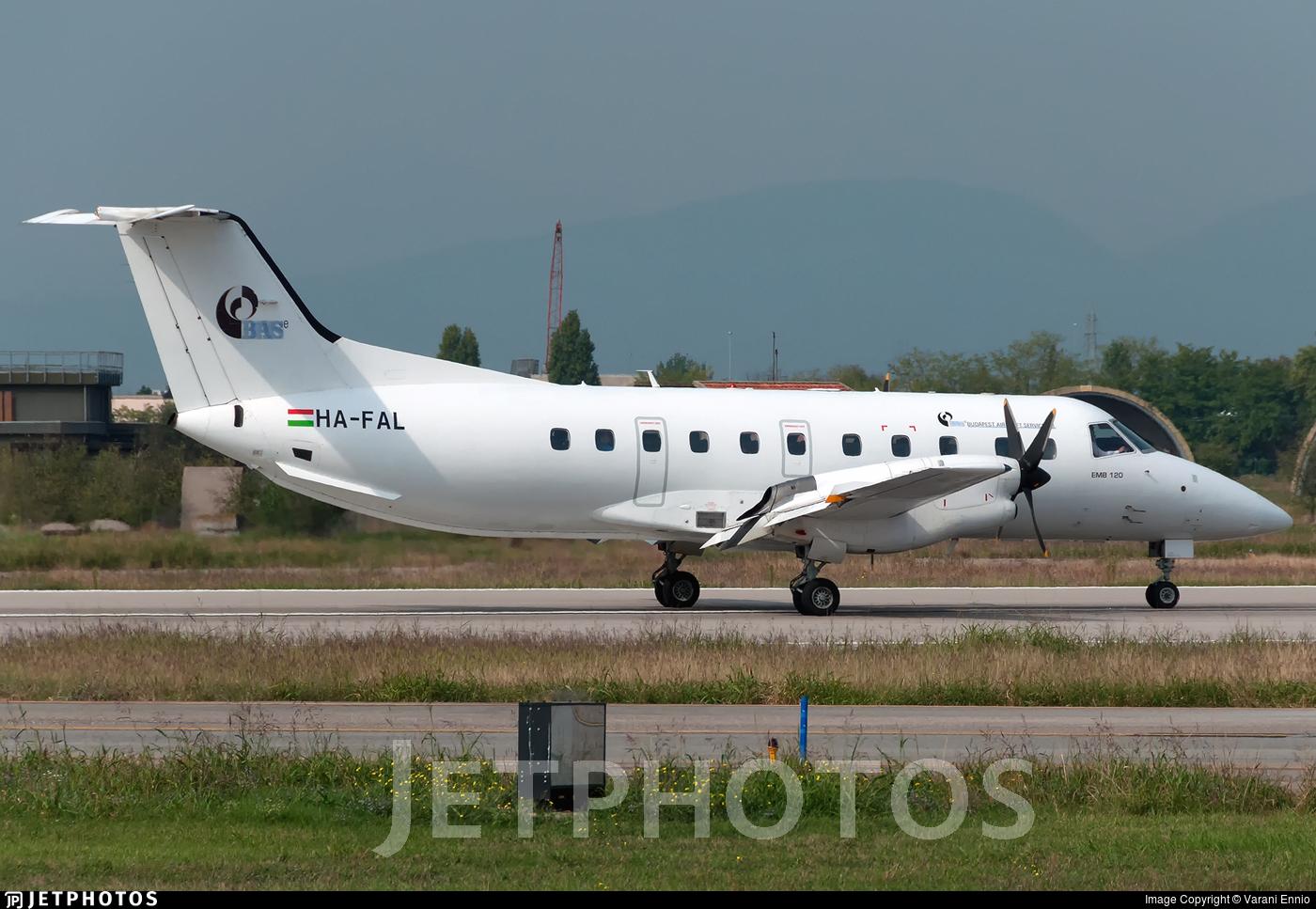 HA-FAL - Embraer EMB-120ER Bras�lia - BASe - Budapest Aircraft Service