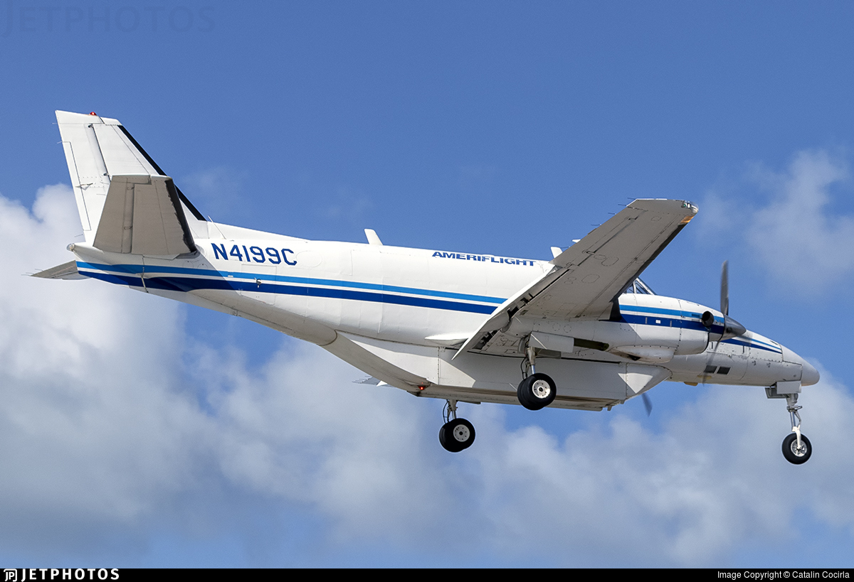 N4199C - Beech C99 Airliner - Ameriflight