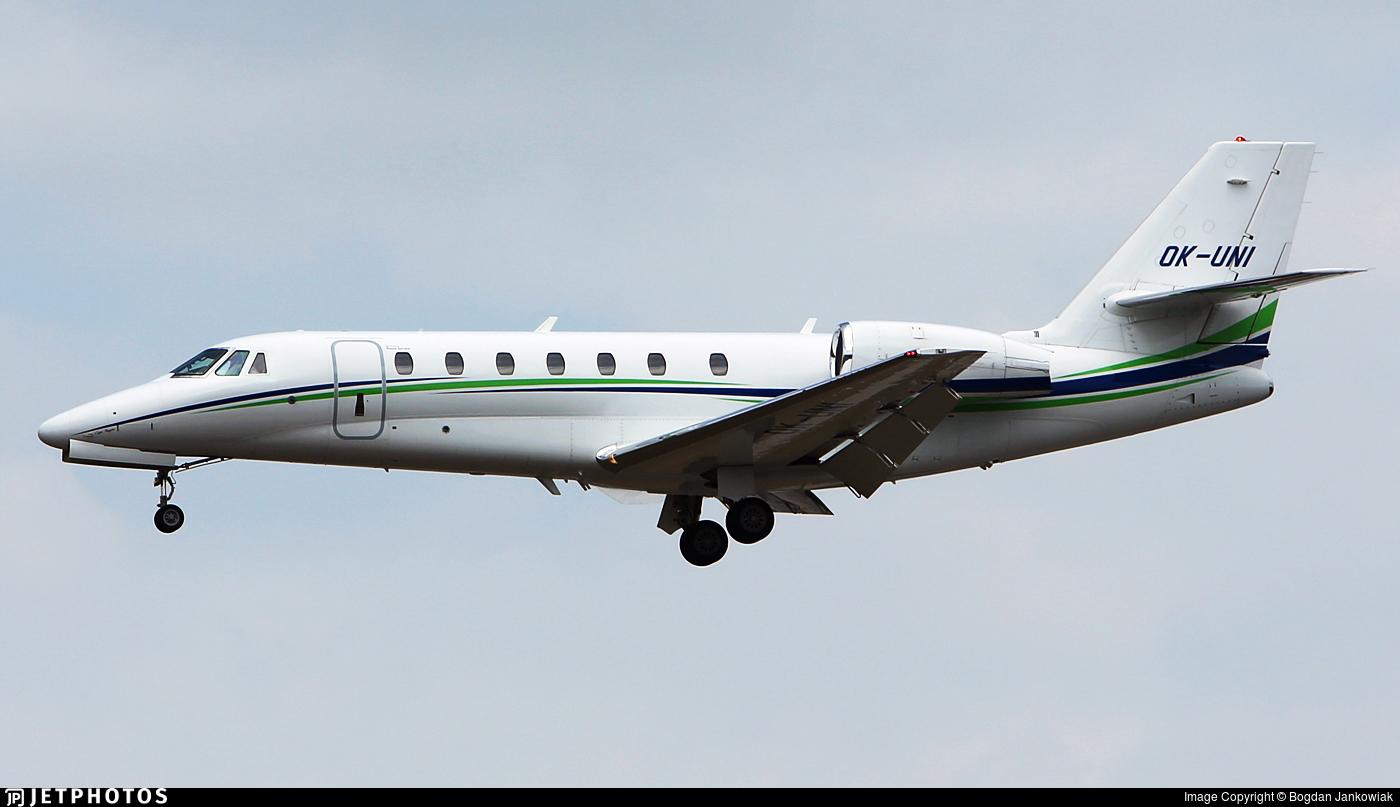 OK-UNI - Cessna 680 Citation Sovereign - SmartWings