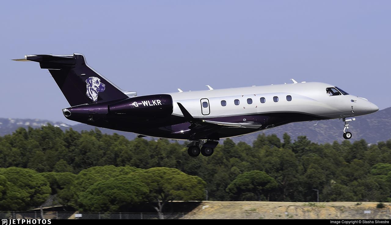 G-WLKR - Embraer EMB-550 Legacy 500 - Air Charter Scotland