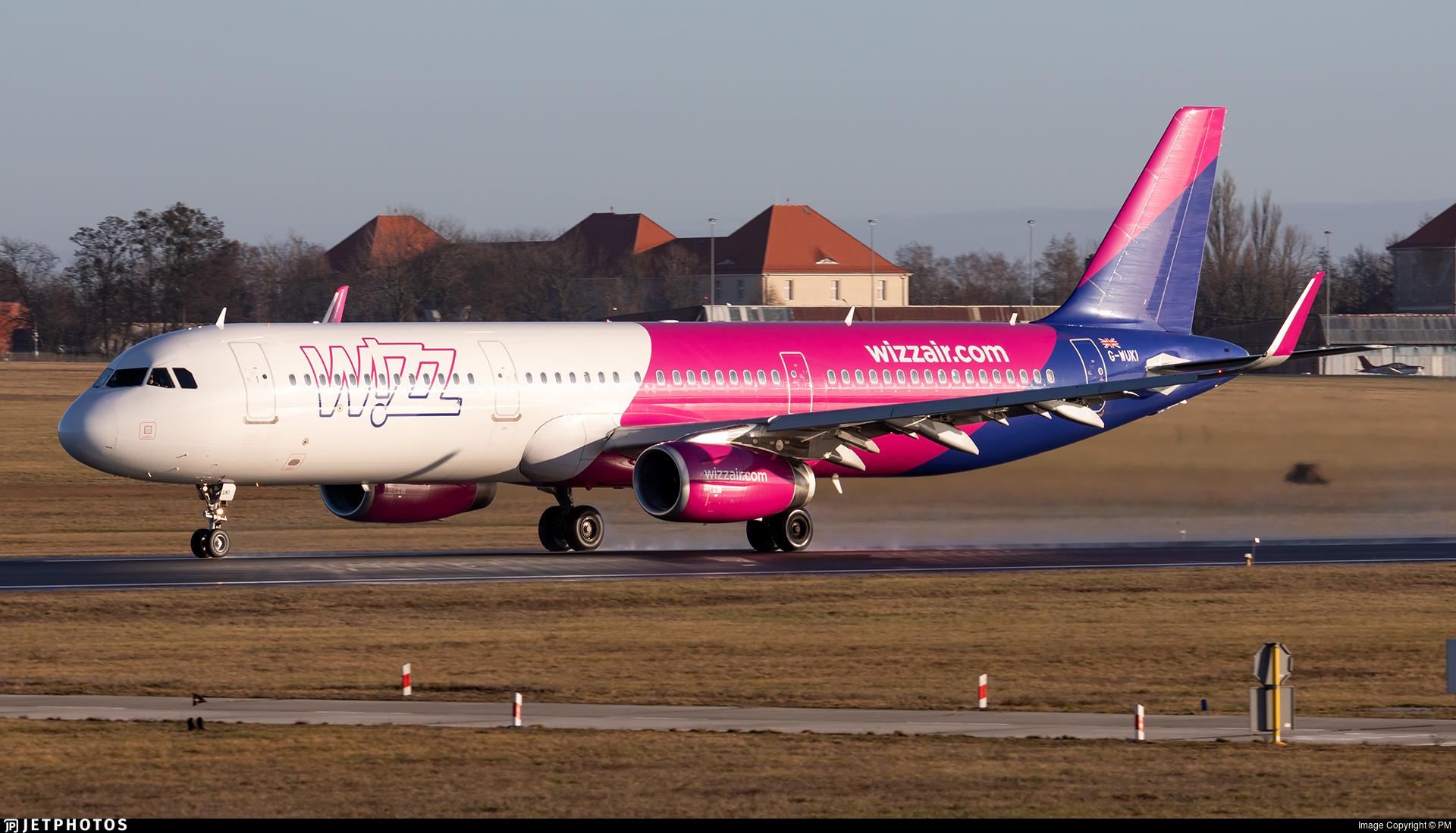 G-WUKI - Airbus A321-231 - Wizz Air UK