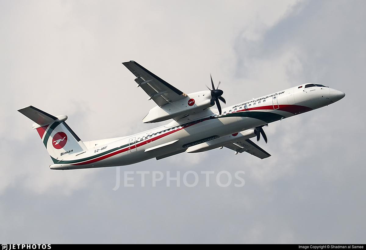 S2-AKF - De Havilland Canada Dash 8-402 - Biman Bangladesh Airlines